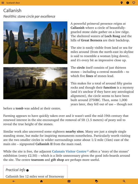 Scotland's Best: Travel Guide screenshot 11