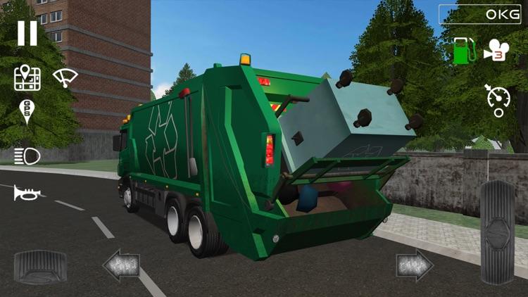 Trash Truck Simulator screenshot-3