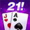 App Icon for 21 Gold: A Blackjack Game App in United States IOS App Store