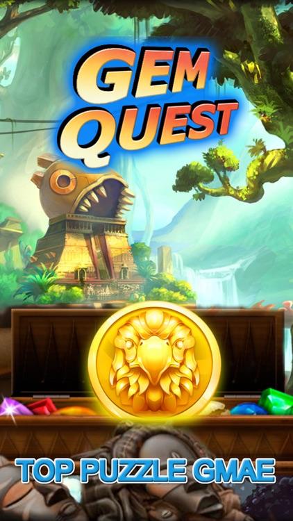 Gem Quest - Jewel Games Puzzle screenshot-3