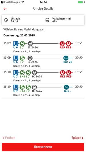 DB Ausflug Screenshot