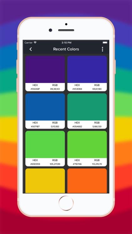 Live Color Picker & Extractor screenshot-3