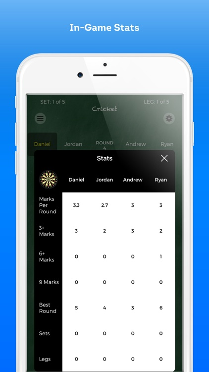 Score Darts Cricket and X01 screenshot-3