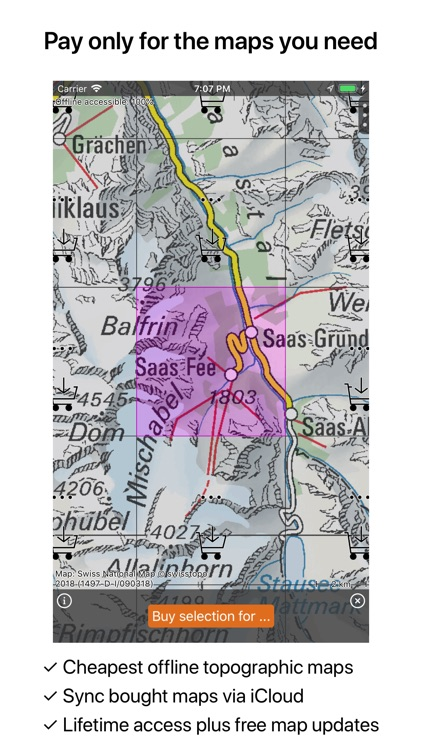 Topo GPS Switzerland