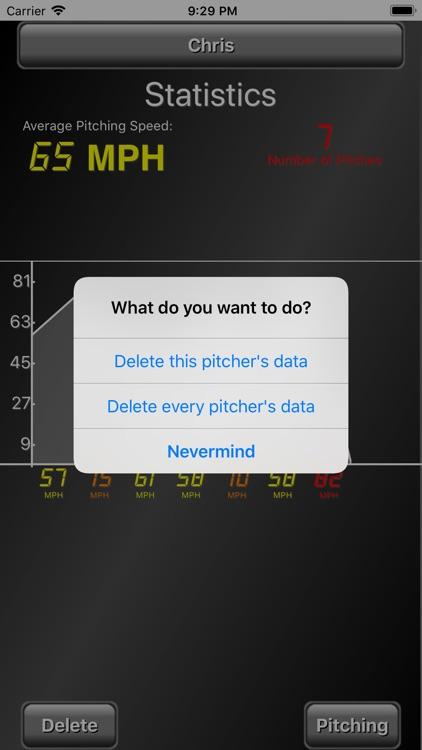 Pitch Radar Gun screenshot-4