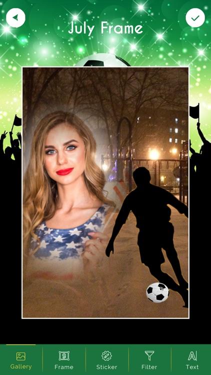 Football Photo Frames screenshot-4