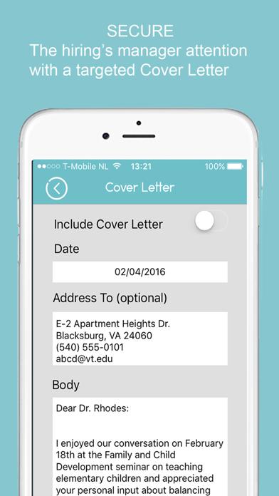 Resume Builder - CV Designer Screenshot