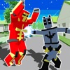 Pixel Superhero Block City Warアイコン