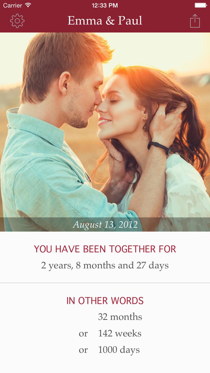 My Love - Relationship Counter Screenshot