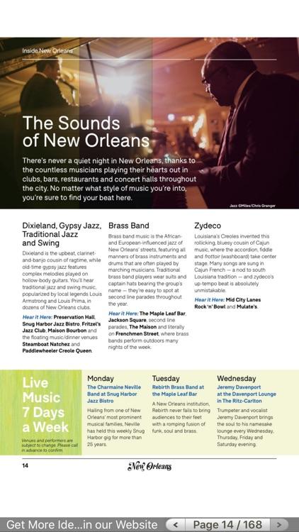 New Orleans Visitors Guide screenshot-3