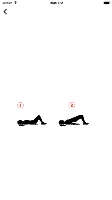 Fit HIIT Exercise Fitness App Screenshots