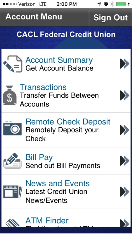CACL FCU Mobile Banking
