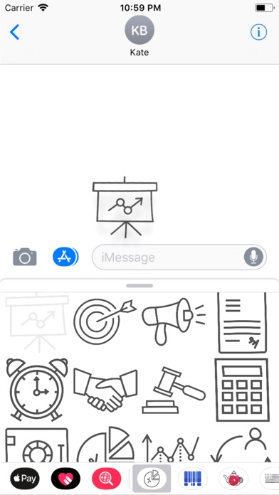 Finance Doodle Stickers screenshot three