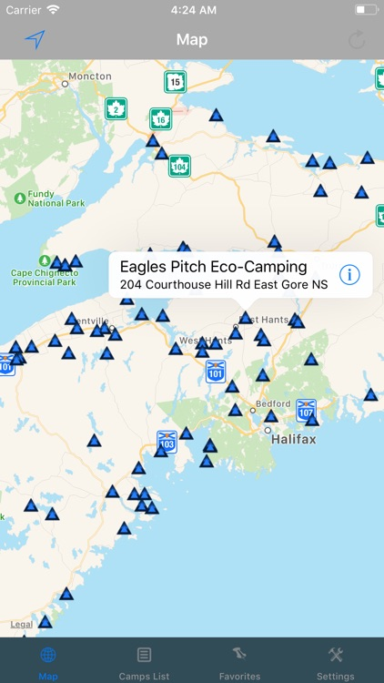 Nova Scotia – Camping & RV's screenshot-0