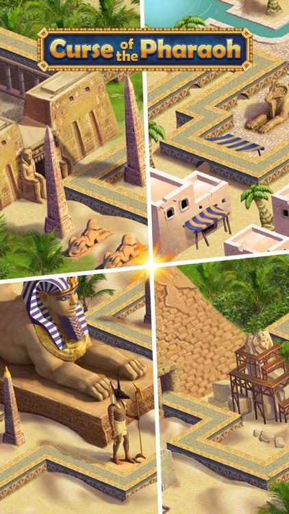 Curse of the Pharaoh - Match 3 screenshot-3