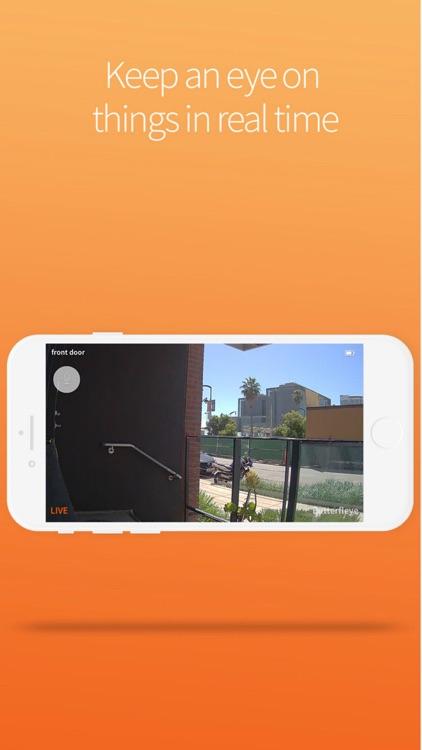 Butterfleye - Security Camera