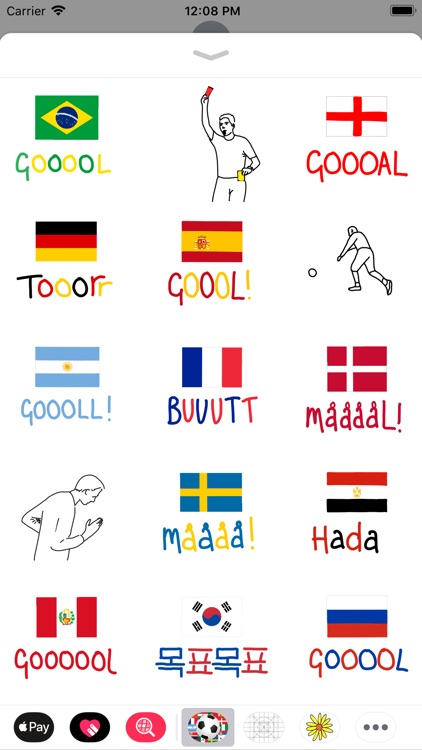 Goalmoji Football Stickers screenshot-3