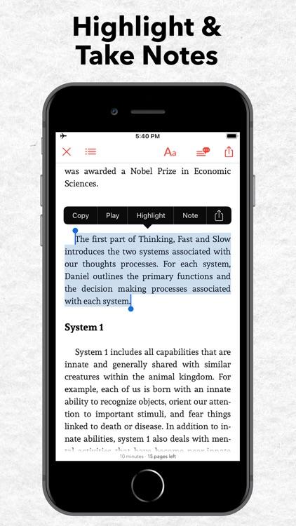 StoryShots: Book Summaries screenshot-6