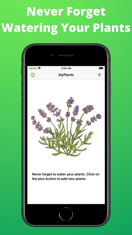 House Plant Watering Reminder