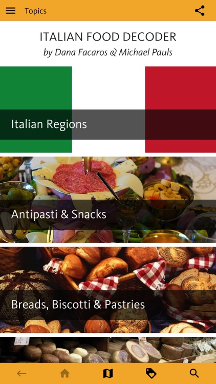 Italian Food Decoder screenshot-0