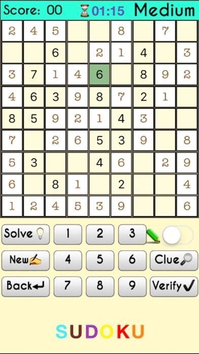 Sudoku -:- Premium screenshot 2