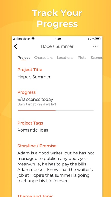 Story Planner for Writers screenshot-5