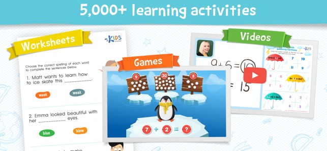kids academy talented  gifted on the app store screenshots