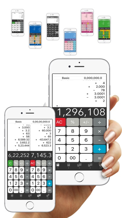 Calculator + - Twin Plus App #