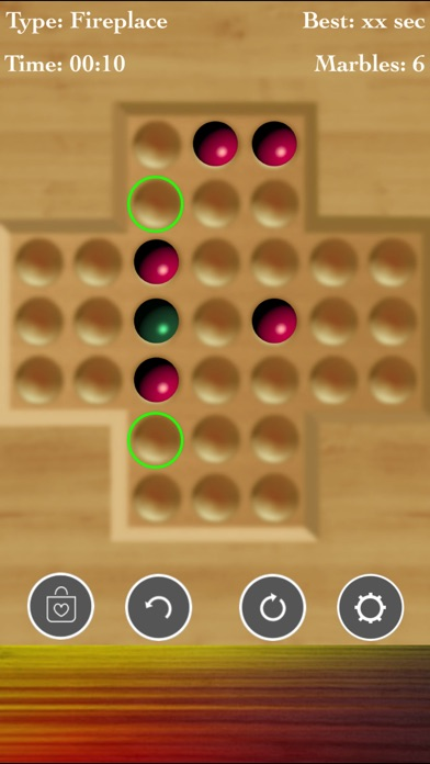 Brainvita Peg Solitaire Game screenshot 5