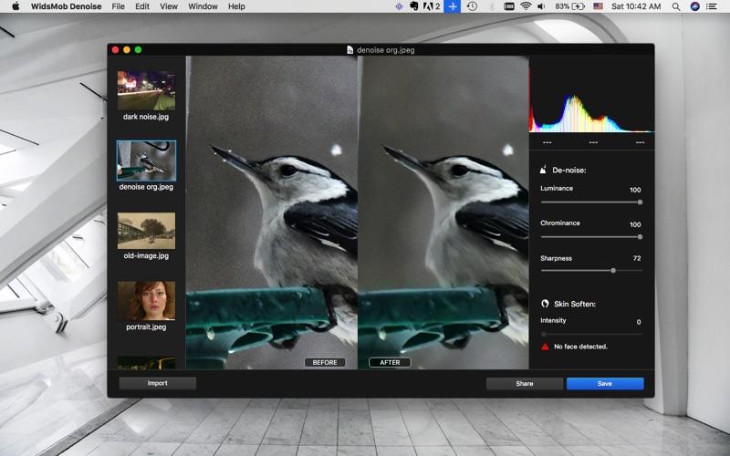 WidsMob Denoise - Noise Reduce Screenshots