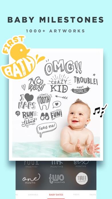 Baby Story - Pics Editor screenshot 4