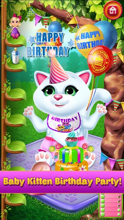 New Baby Pet Kitten Cat Games