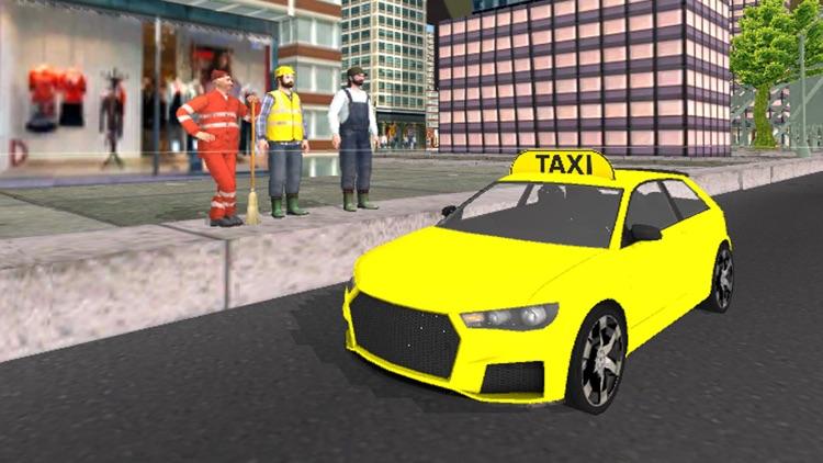 City Taxi Car Driver Simulator screenshot-3