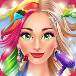 Hair Salon Makeover Games