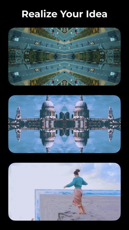 Mirrorart - Flip Photo & Video screenshot-5