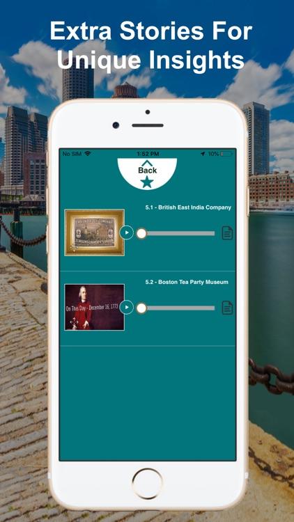 Boston Harborwalk Tour Guide screenshot-7