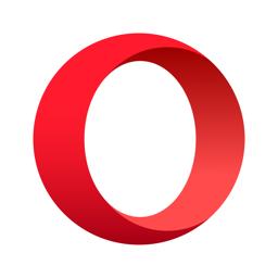Ícone do app Opera: rápido e privado
