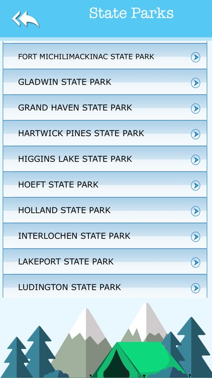 Michigan Camping & State Parks screenshot-3