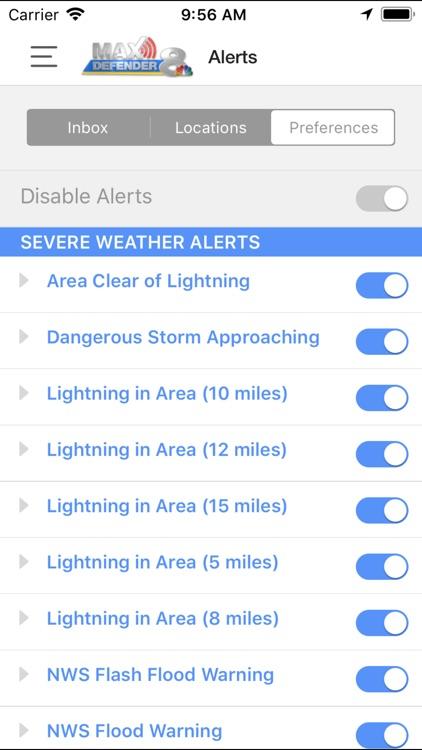 Max Defender 8 Weather App screenshot-4