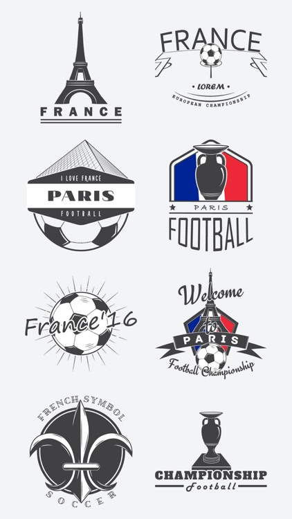 France Football Fans Stickers