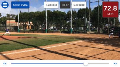 Baseball Radar Gun + screenshot 2
