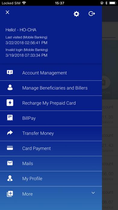 SBM Mobile Banking screenshot two