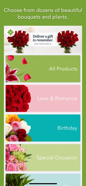 Proflowers Delivered Fresh On The App Store