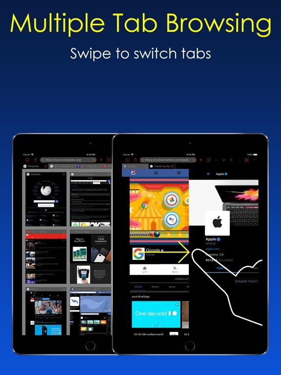 Dark Night Browser Screenshots