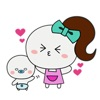 Mother And Her Child Sticker