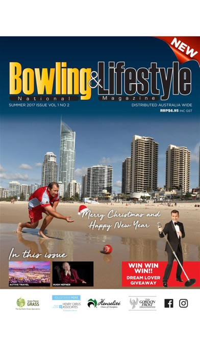 Australian Bowls & Life MagScreenshot of 1