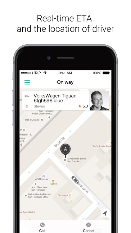 UTAP - order taxi and courier screenshot-3