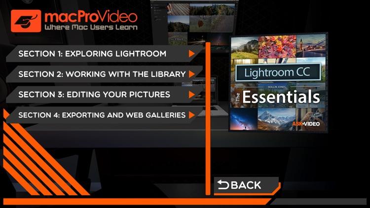 Essentials 101 Lightroom CC