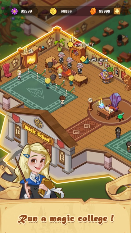 Idle Magic Academy screenshot-3