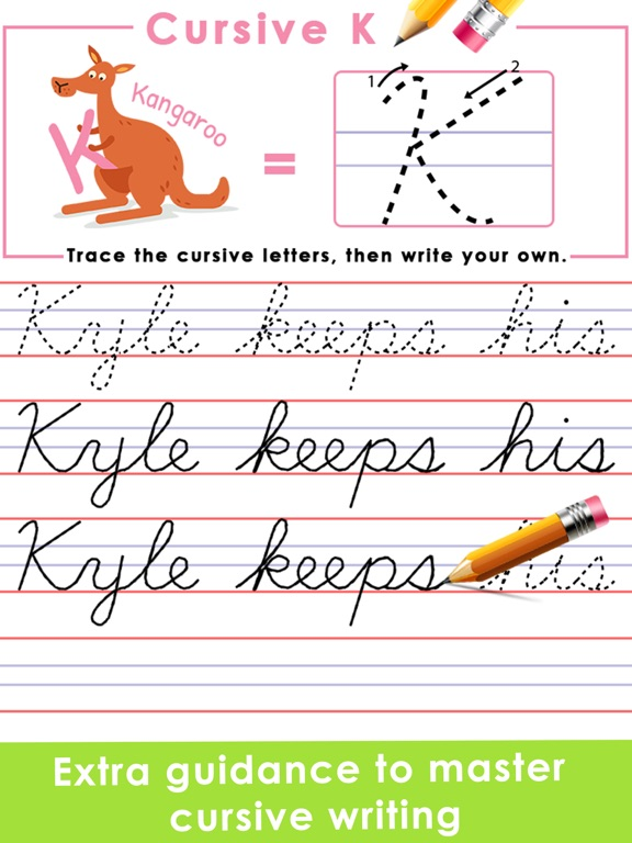 cursive writing keyboard for android